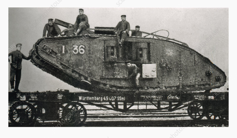 Early British tank