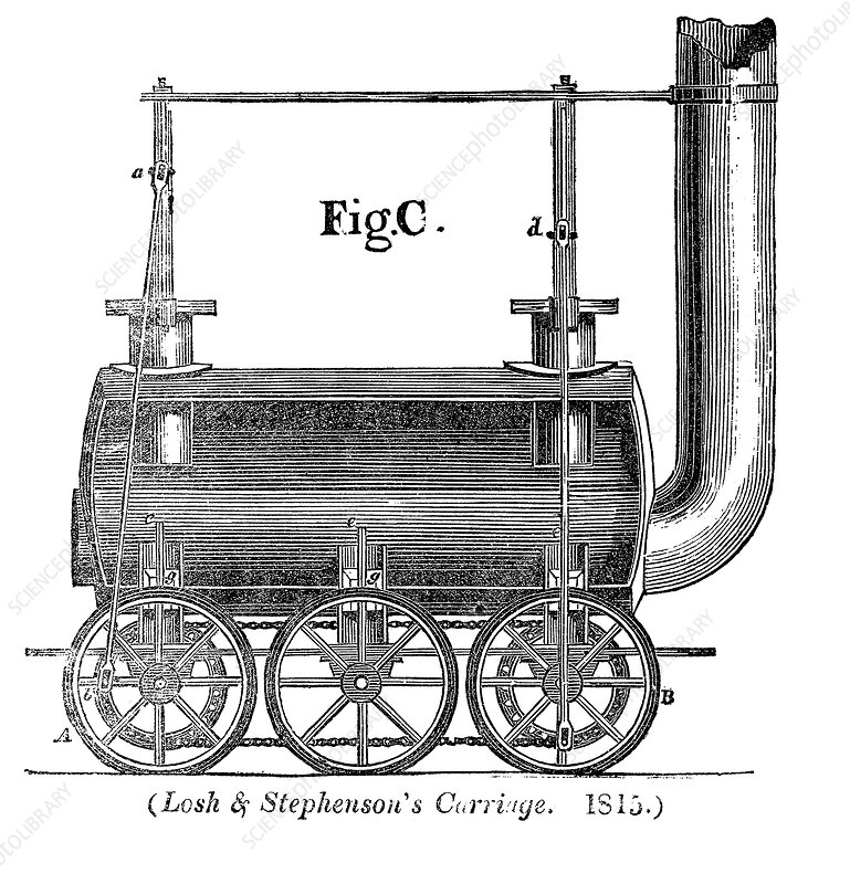 Losh and Stephenson's carriage