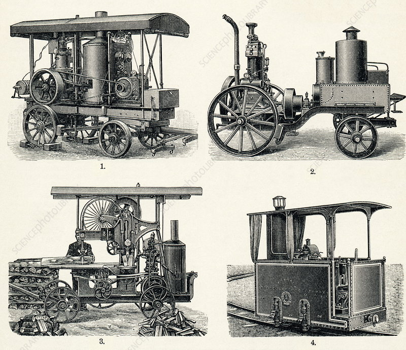Early petrol locomotives