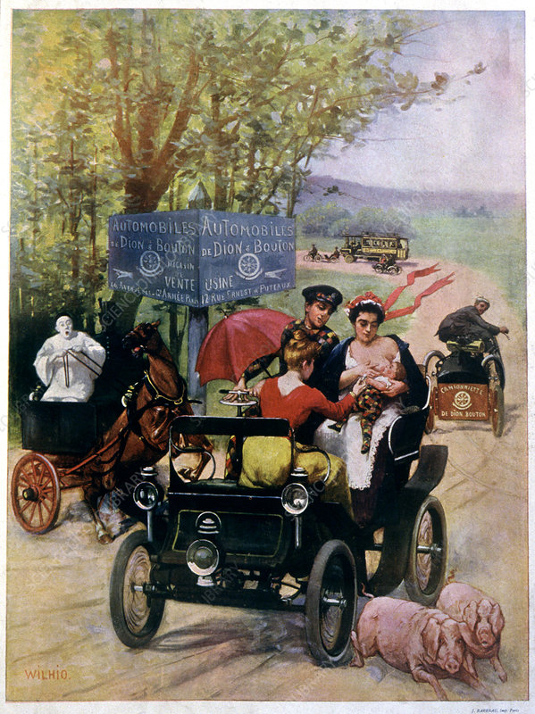 19th century motor vehicle traffic