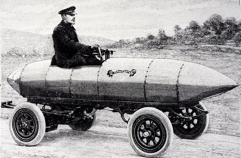 Camille Jenatzy S Electric Car 1900