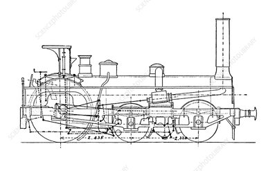 Crompton's steam locomotive