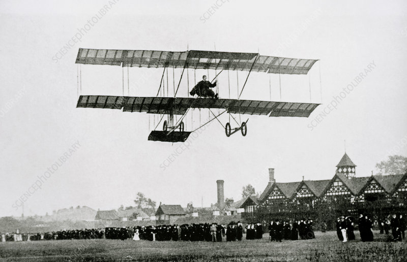 Farman aircraft used for the 1st ever night flight