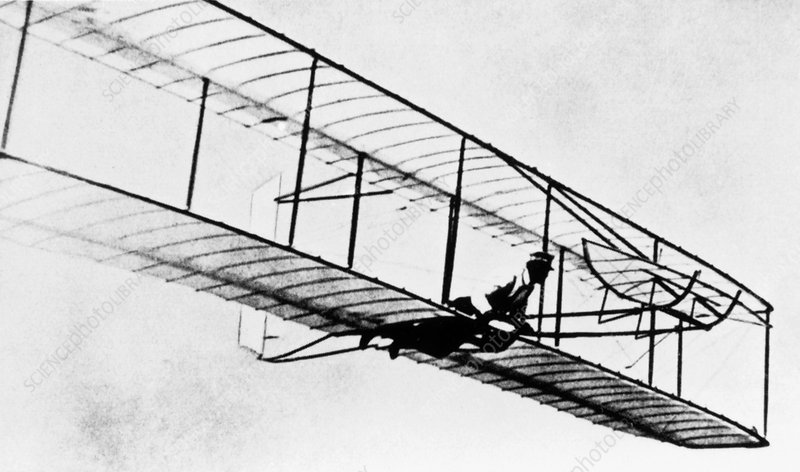 Early glider in 1902