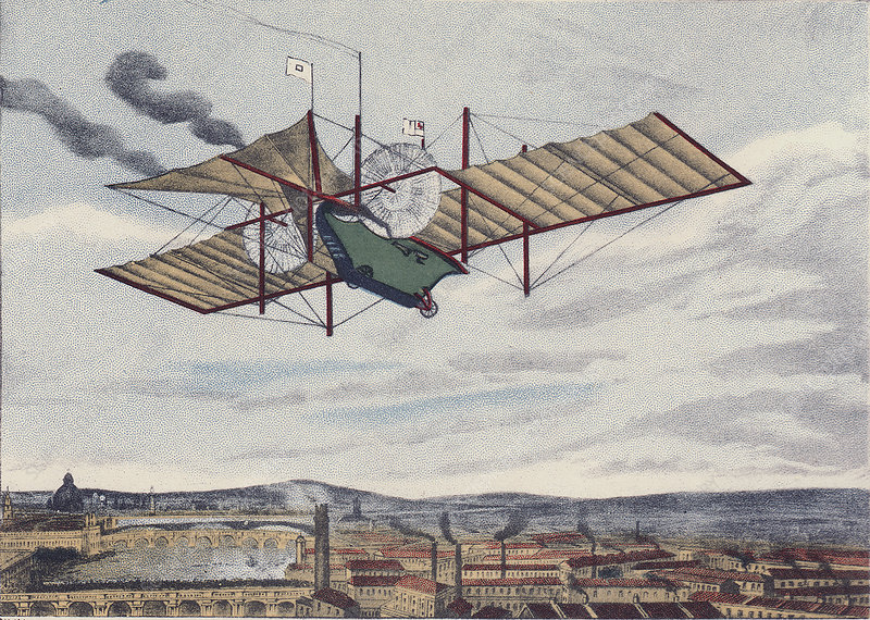 Henson's flying machine
