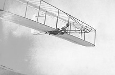 Wright brothers' glider