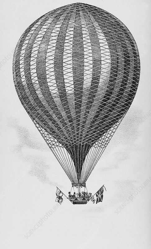 Royal Vauxhall balloon