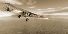 First solo transatlantic flight, 1927