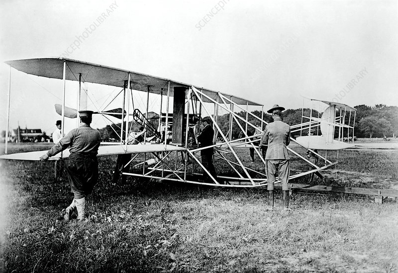 Orville Wright's flight on June 29, 1909