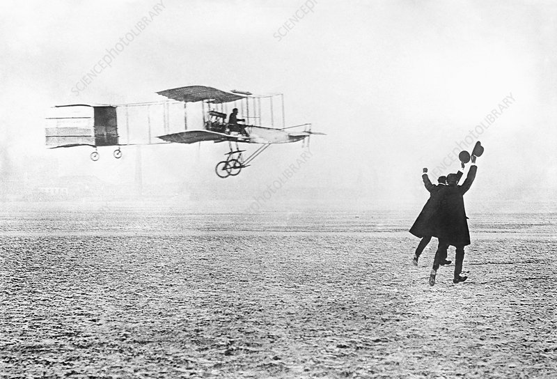 Farman aeroplane, 1909