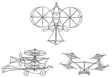 Cayley's aerial carriage, 1843