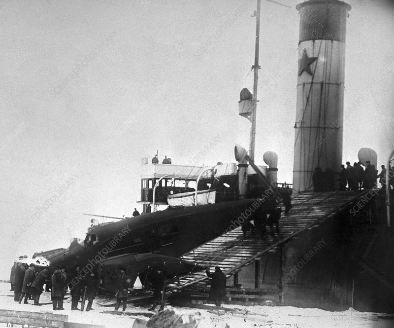 Search for Nobile's 1928 polar expedition
