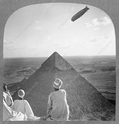 Graf Zeppelin in Egypt, 1931
