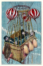 Zenith balloon ascent, 1875