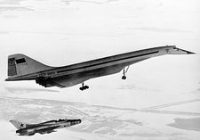 Tu-144, the first supersonic jet , 1969