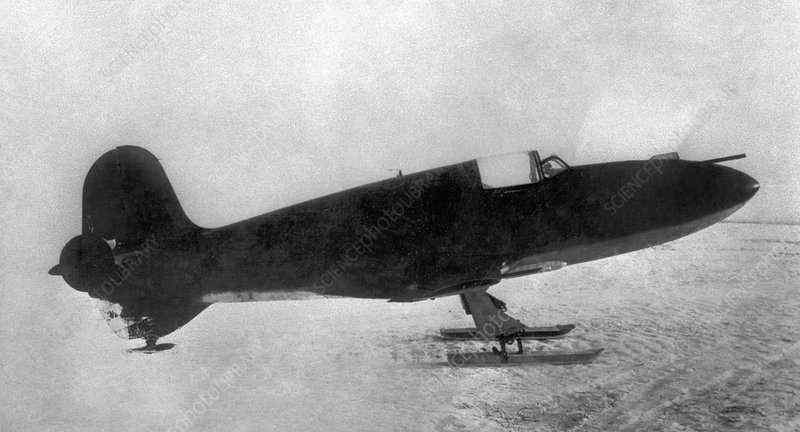First Soviet rocket aeroplane