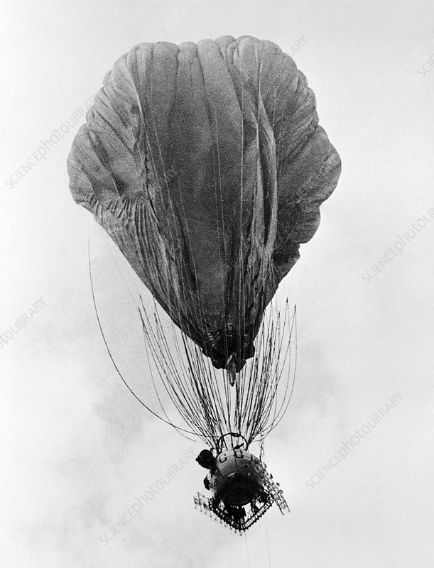 USSR-1 high-altitude balloon, 1933