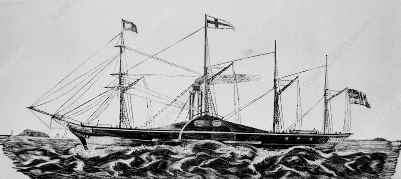 Great Western steamship