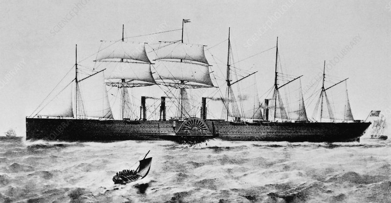 Great Eastern ship
