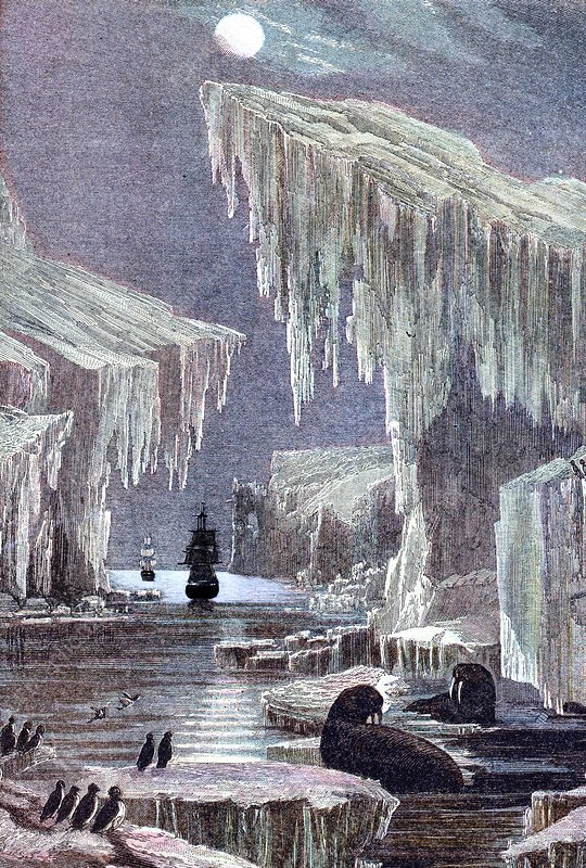 Franklin's lost Arctic expedition, 1840s