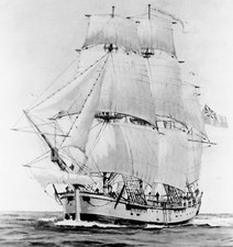 James Cook's ship Endeavour