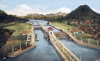 Panama Canal, early 20th century