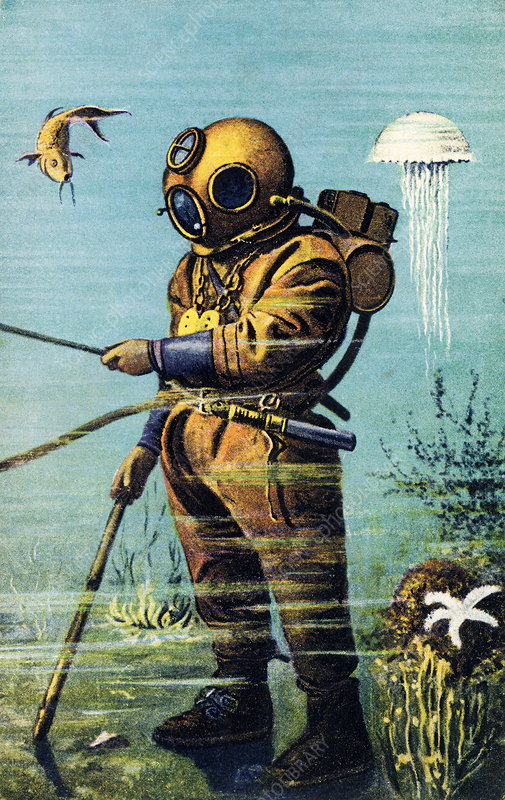 Early 20th century diver