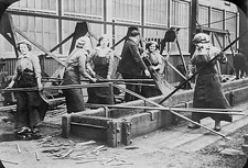 Women shipbuilders, WW1