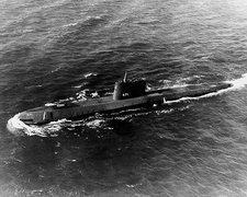First nuclear submarine Nautilus, 1955