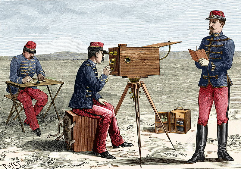 Optical telegraphy, 19th century