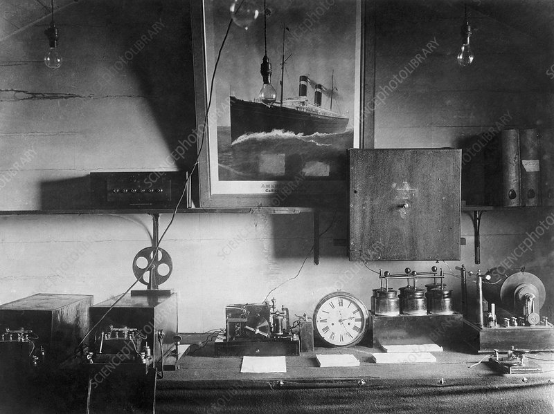 Early Marconi apparatus