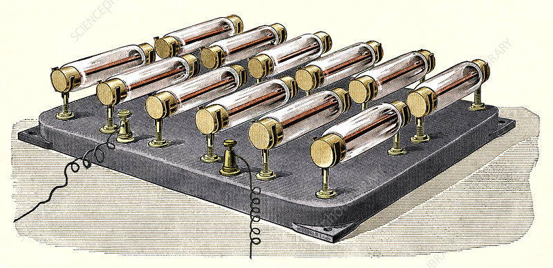 Electrical heater, 1900