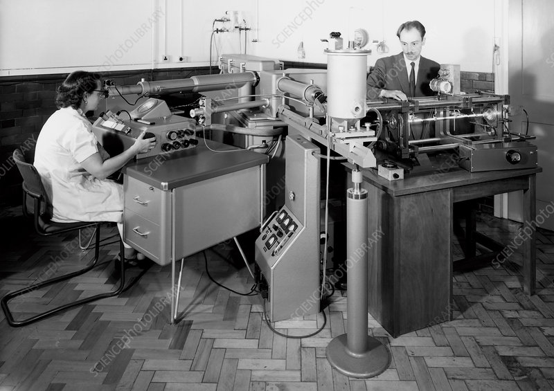 One-metre interference comparator, 1963