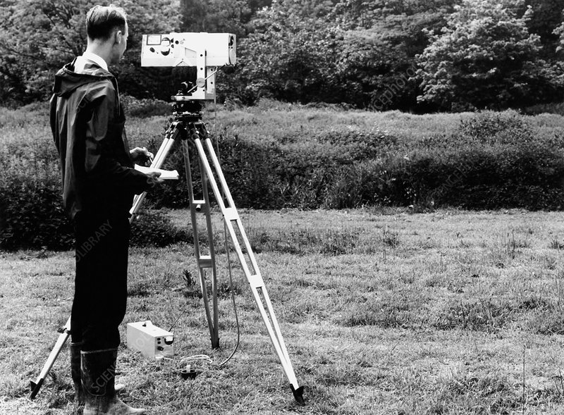 Mekometre surveying, 1967