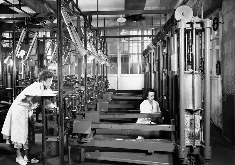 Materials science laboratory, 1953