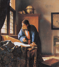 The Geographer, 17th century artwork