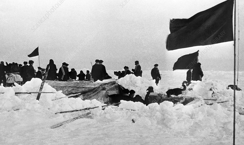 Rescue of Soviet Arctic expedition, 1938