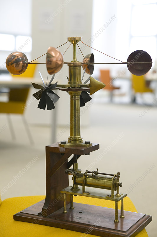 Historical recording anemometer