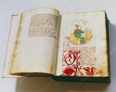 15th century German astrology manuscript