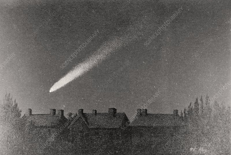 Artwork of the Great Comet of 1882