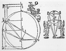 Page from Kepler's book, Astronomia Nova