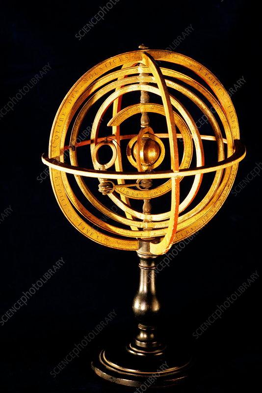 Copernican solar system - Stock Image - V700/0119 - Science
