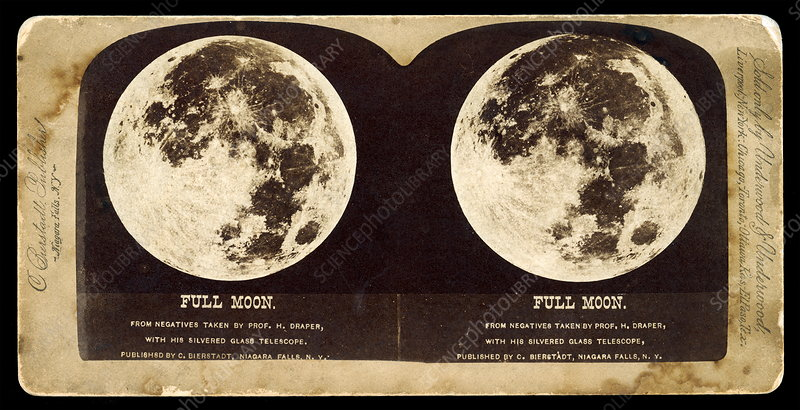 Photograph of the Moon, 1885