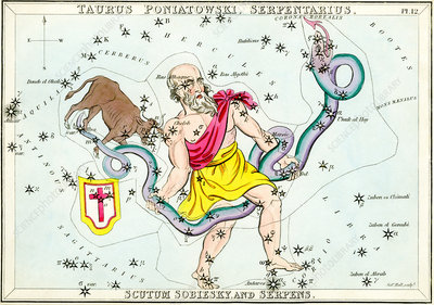 Taurus Poniatovii constellation