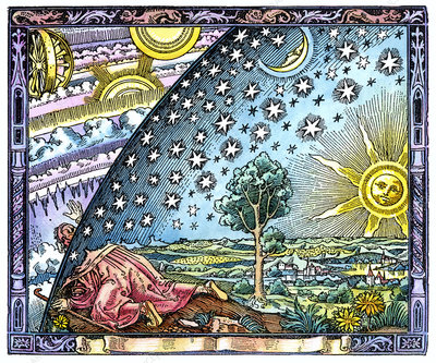 Celestial mechanics, medieval artwork