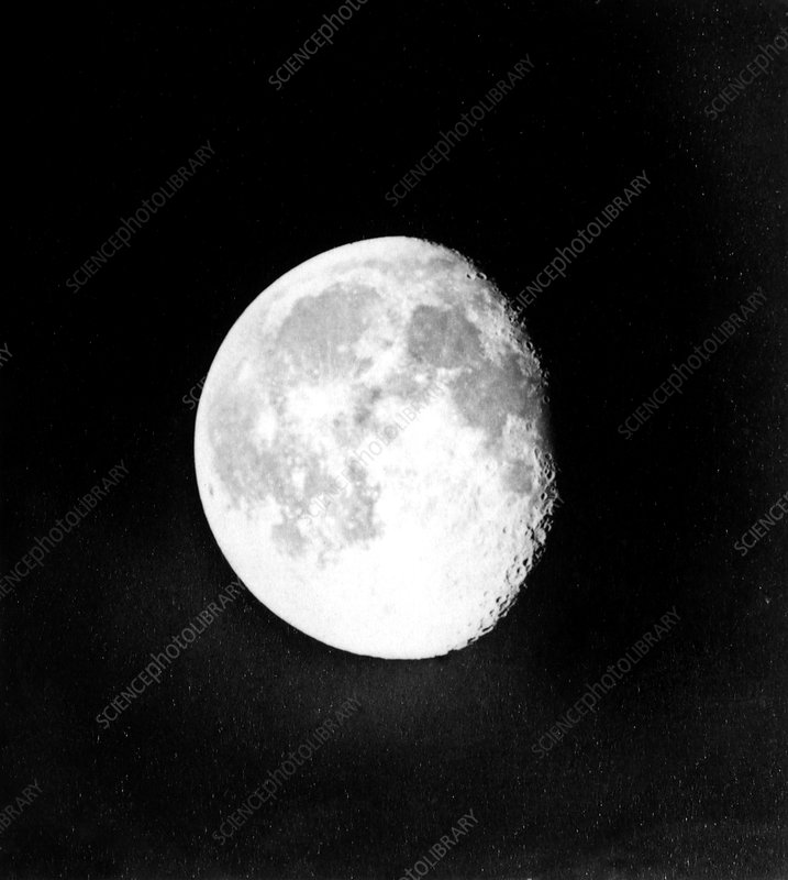 Waning Moon, 1873 photograph