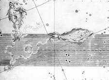 Pisces constellation, 1603