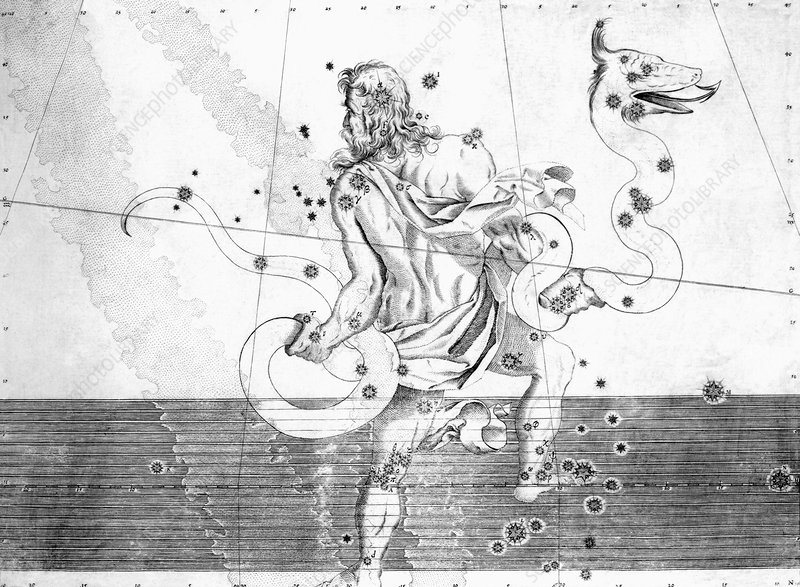 Ophiuchus constellation, 1603