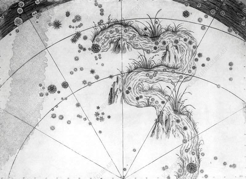 Eridanus constellation, 1603