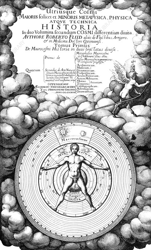 Fludd's book on metaphysics, 1617
